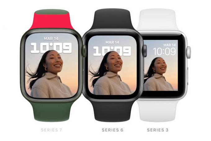 Apple Watch Series 7 fait le pari d'un écran plus grand